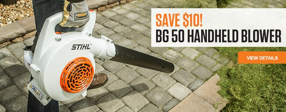 Save $10 on BG 50 Handheld Blower!